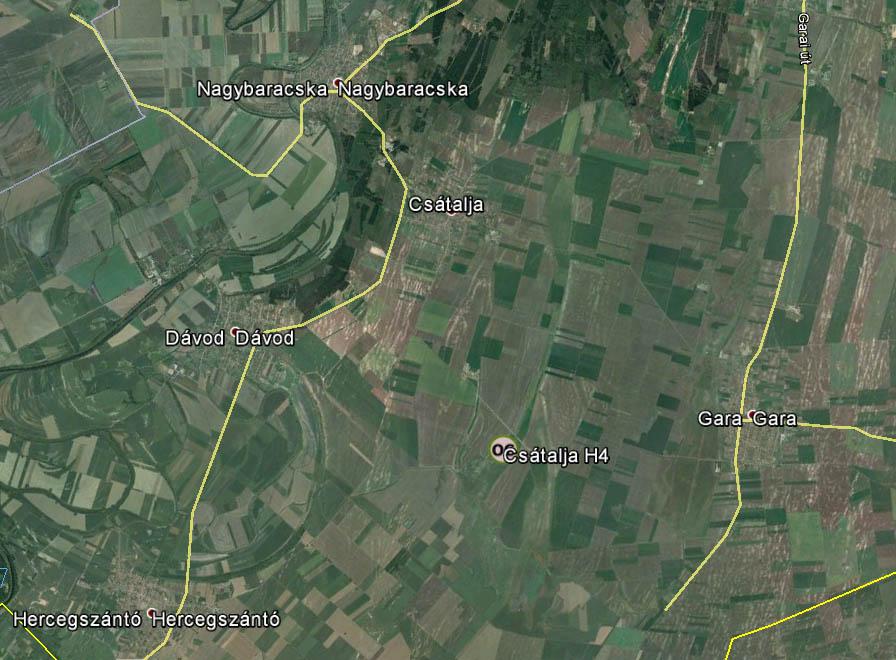 Csátalja find location: 46.006° N, 18.991° E