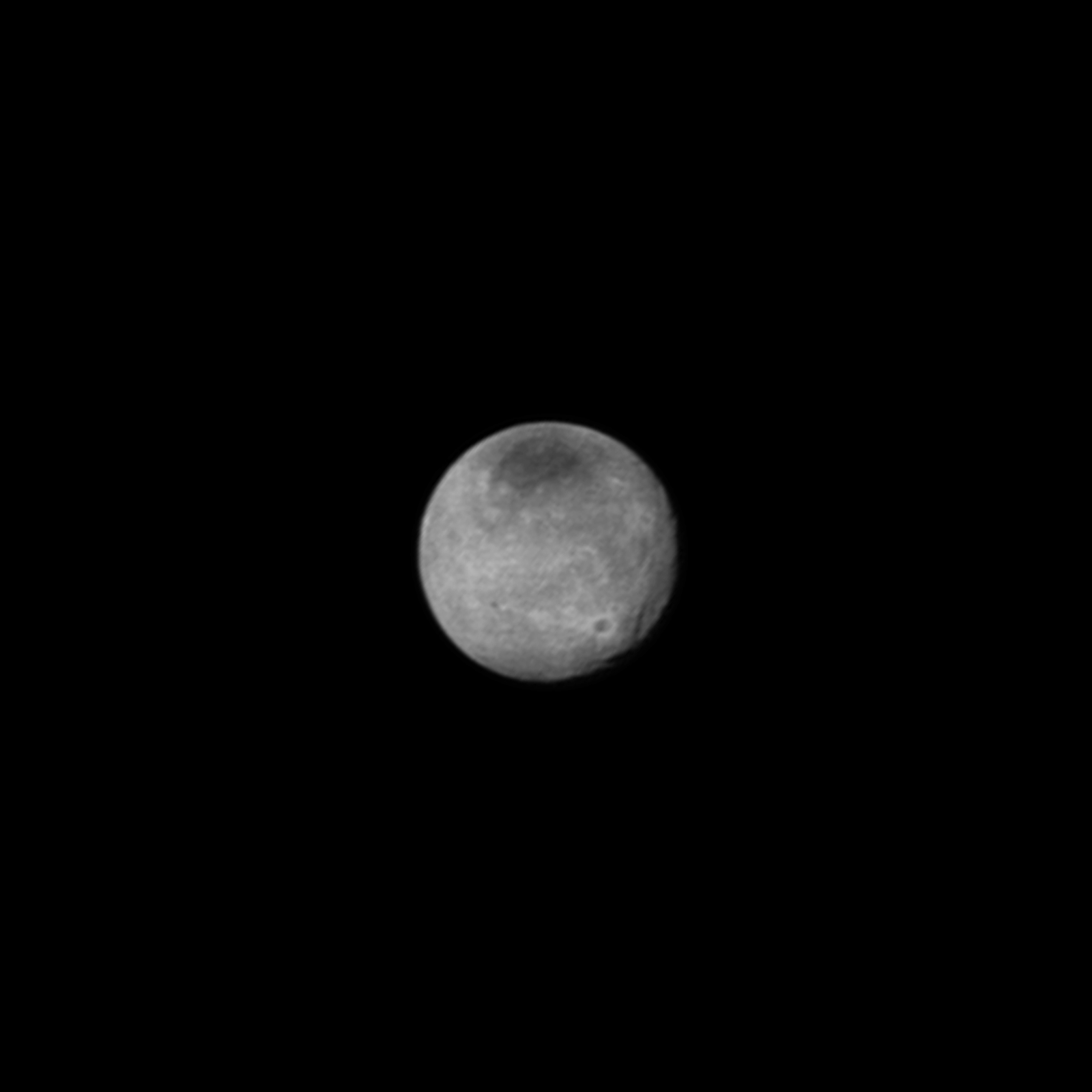Charon on July 12 from a distance of 1.6 million miles (2.5 million kilometers)