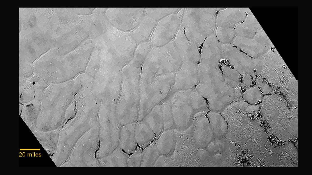 """Sputnik Planum"" on Pluto / Credit: NASA/Johns Hopkins University Applied Physics Laboratory/Southwest Research Institute"