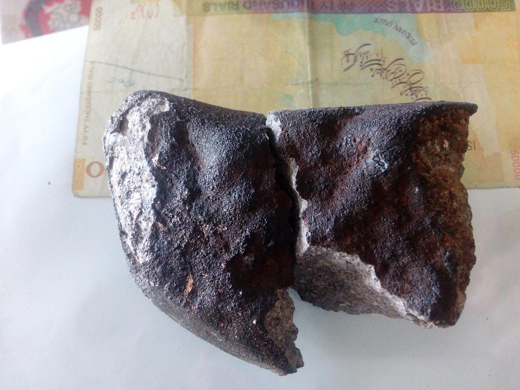 possible Hamadan meteorite