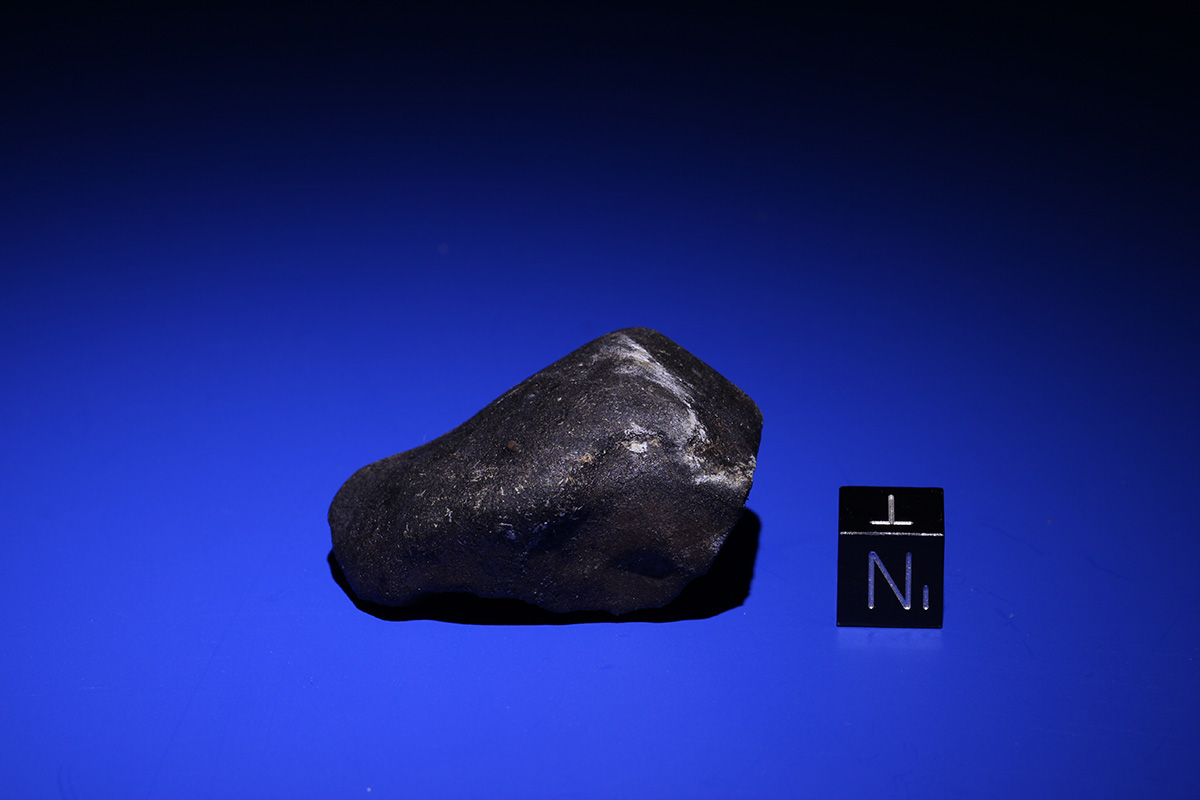 The second 'Ering' meteorite (42.43 g) View B (Photo: M. Karl)