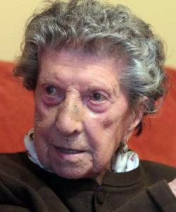 Rosa González Pérez in 2014